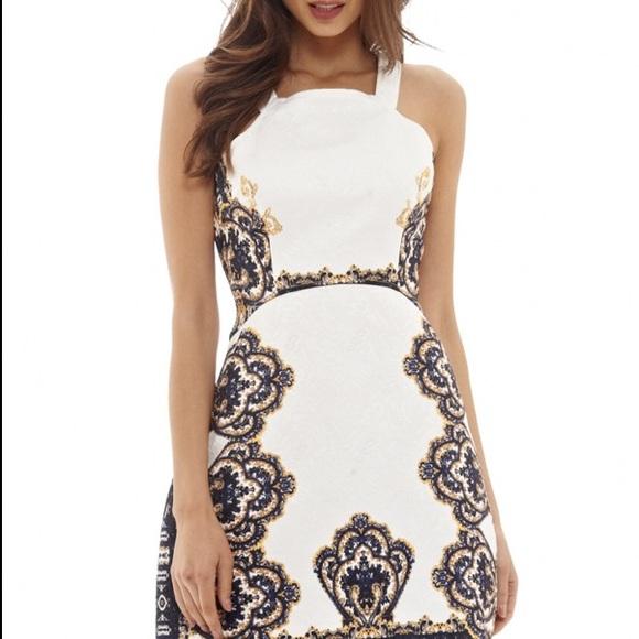 Dresses & Skirts - Baroque Print Dress